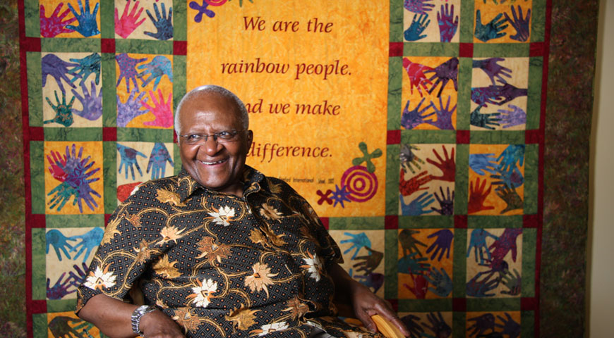 Interview with Archbishop Desmond Tutu