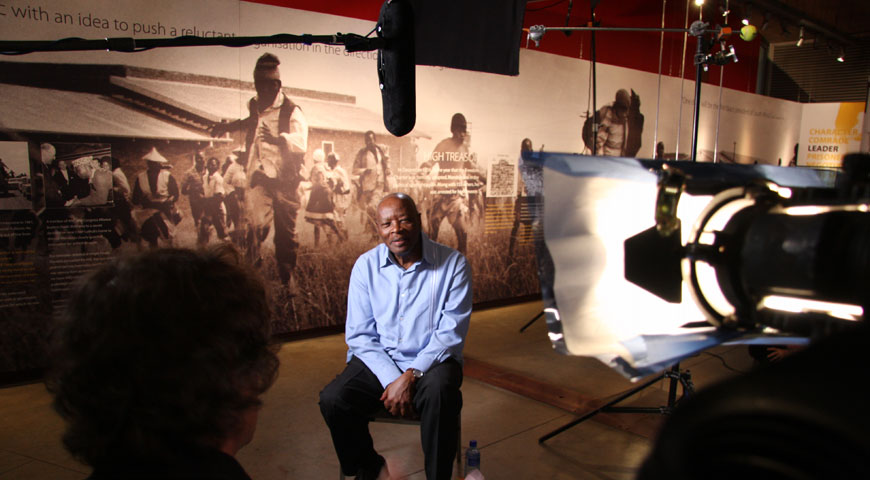 Interview with Judge Fikile Bam, Apartheid Museum