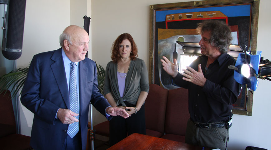 Interview with FW de Klerk